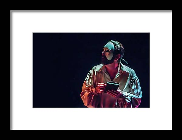 Live Theater Framed Print featuring the photograph American Phantom by Alan D Smith