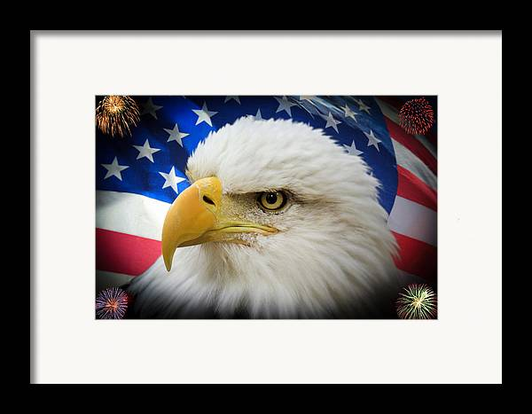 4th Of July Framed Print featuring the photograph American Pride by Shane Bechler