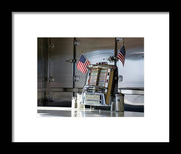 Diner Framed Print featuring the photograph Americana by Randy Ford
