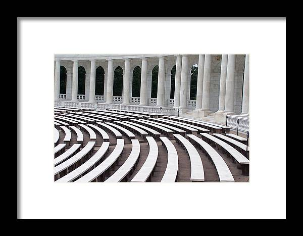 Amphitheatre Framed Print featuring the photograph Amphitheatre by Vijay Sharon Govender