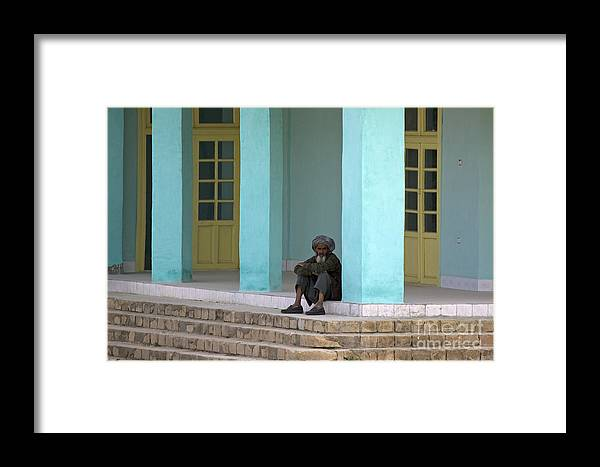 Man Framed Print featuring the photograph An Afghan Man by Tim Grams