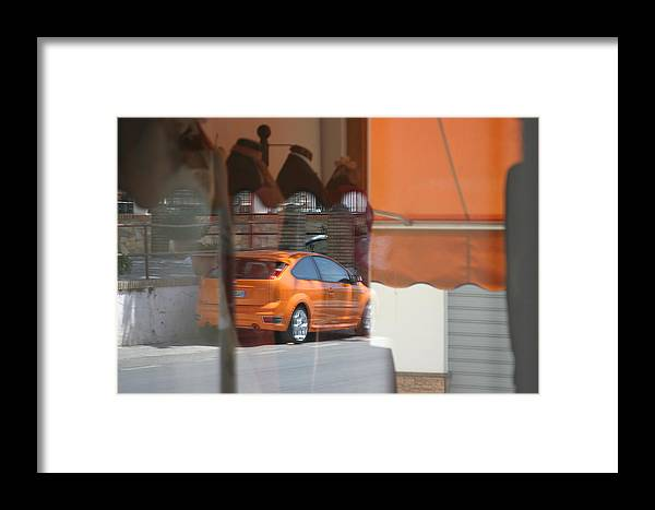 Photographer Framed Print featuring the photograph An Orange Kinda Day by Jez C Self