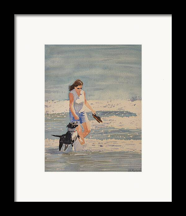 Satffay Framed Print featuring the painting Anabelly by Ally Benbrook