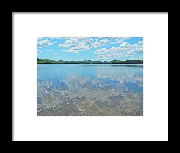 Nature Framed Print featuring the photograph Anasagunticook Lake, Canton, Me, Usa 10 by George Ramos