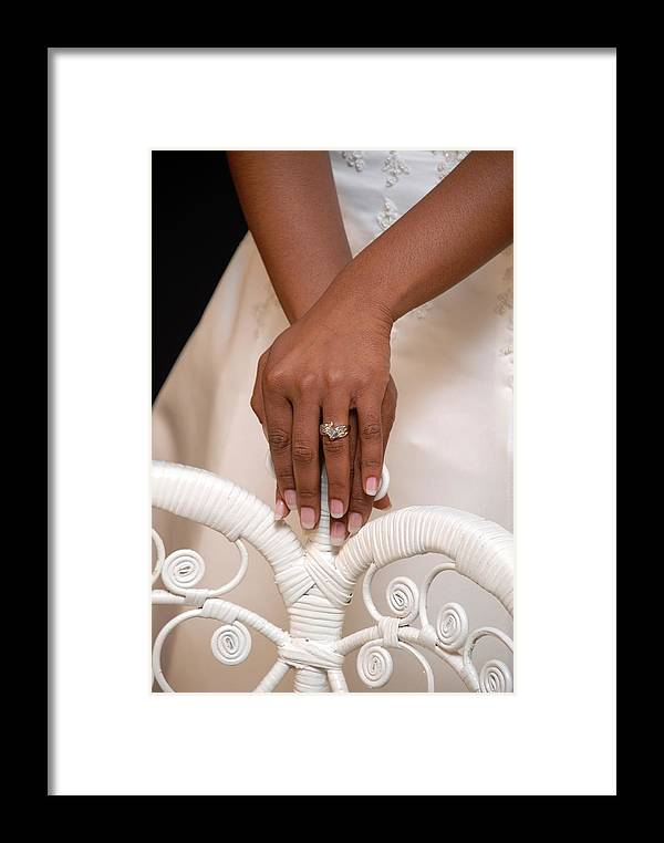 Ring Framed Print featuring the photograph And She Said Yes by Rich Caperton