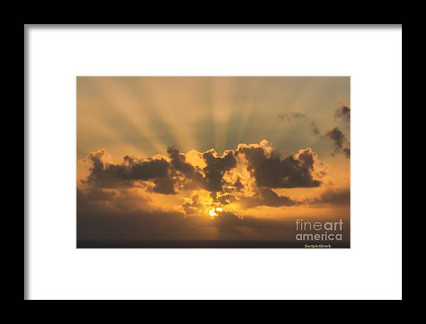 Clouds Framed Print featuring the photograph And Then There Was Day Five by Roberta Byram
