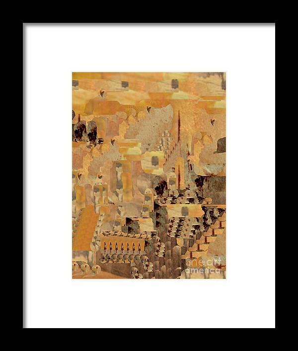 Digital Art Framed Print featuring the digital art Andalusian Adventure by Nancy Kane Chapman