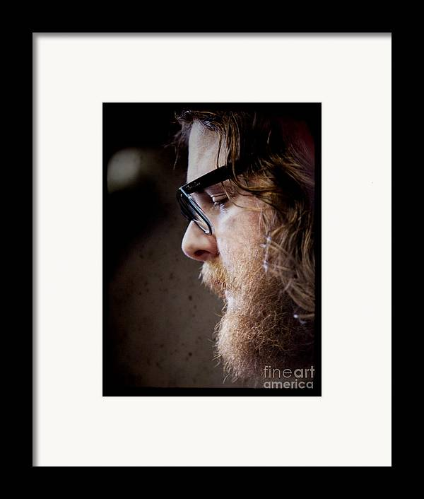 Andy Hull Framed Print featuring the photograph Andy Hull Of Manchester Orchestra by Dustin K Ryan
