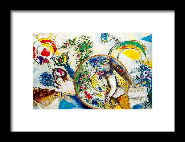 Travel Framed Print featuring the digital art Anew by Laura Botsford