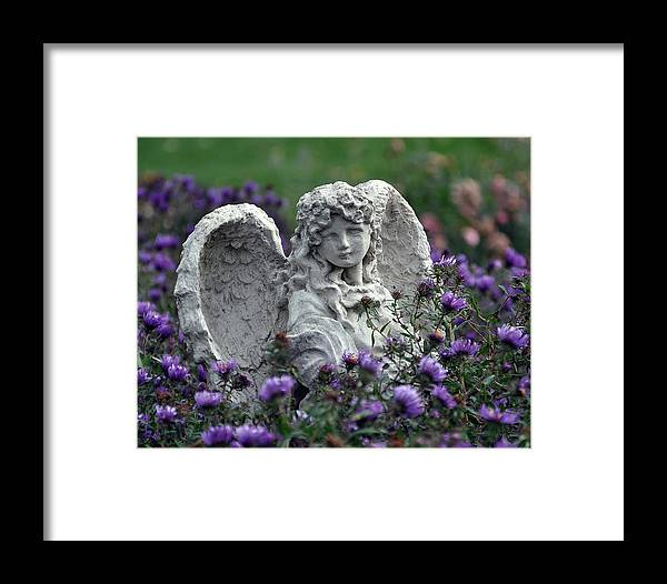 Angel Framed Print featuring the photograph Angel by Gwen Allen