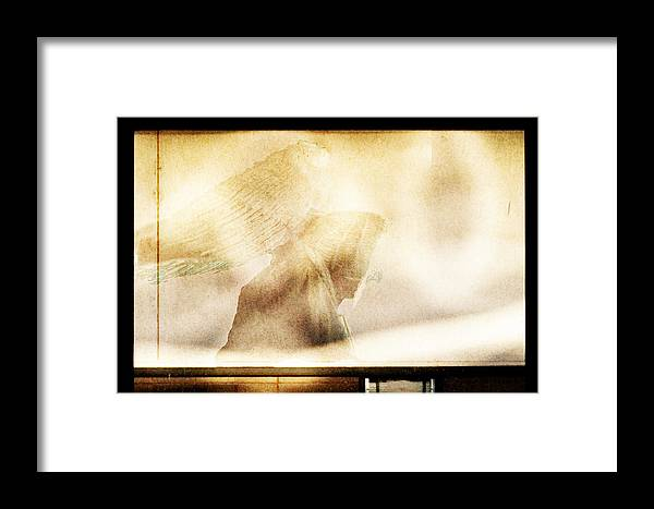 Digital Photography Framed Print featuring the photograph Angel I by Tony Wood
