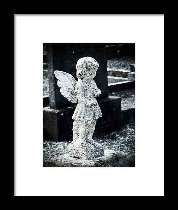 Ireland Framed Print featuring the photograph Angel In Roscommon No 3 by Teresa Mucha