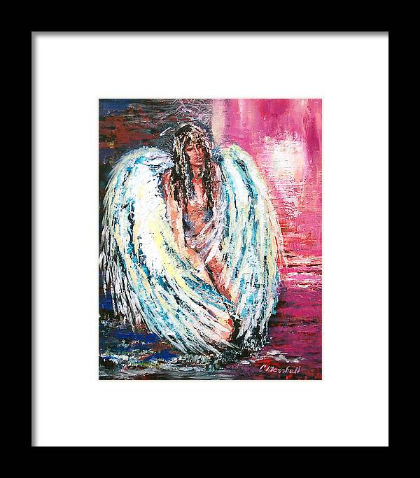 Art Framed Print featuring the print Angel Of Dreams by Claude Marshall