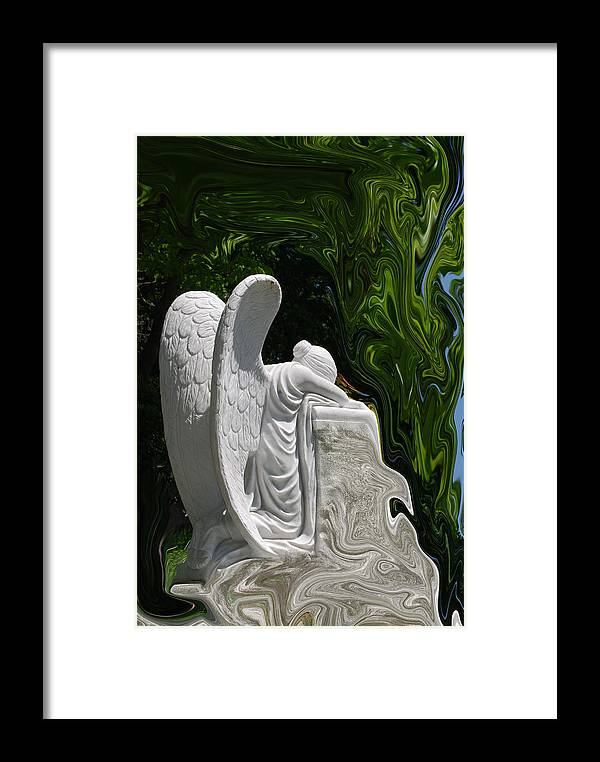 Angel Framed Print featuring the photograph Angel by Patricia Motley