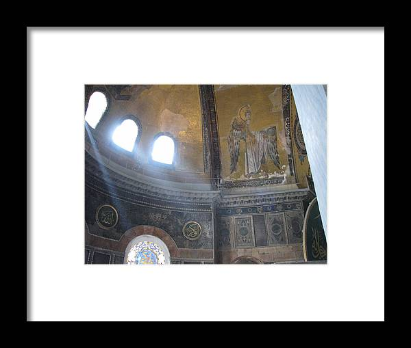 Angel Framed Print featuring the photograph Angelic Alcove by Jay Givens