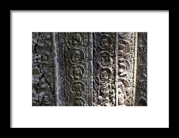 Angkor Framed Print featuring the photograph Angkor Layers by Marcus Best