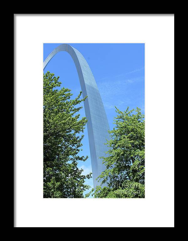 Gateway Framed Print featuring the photograph Angle Profile by Nicole Engelhardt