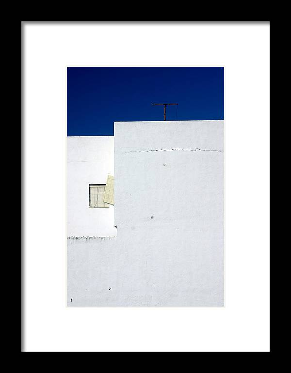 Photographer Framed Print featuring the photograph Angled Lines by Jez C Self