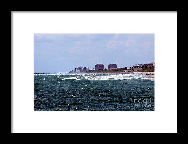 Ocean Framed Print featuring the photograph Angry Ocean by William Tasker
