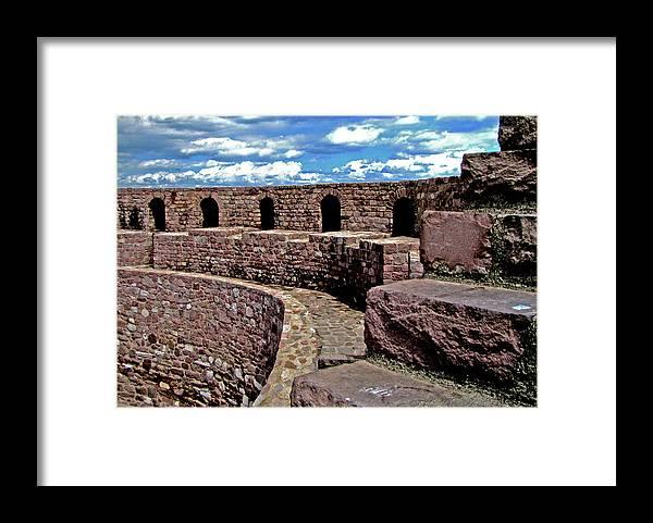 Castle Framed Print featuring the photograph Ankara Turkey I by Pam Ellis