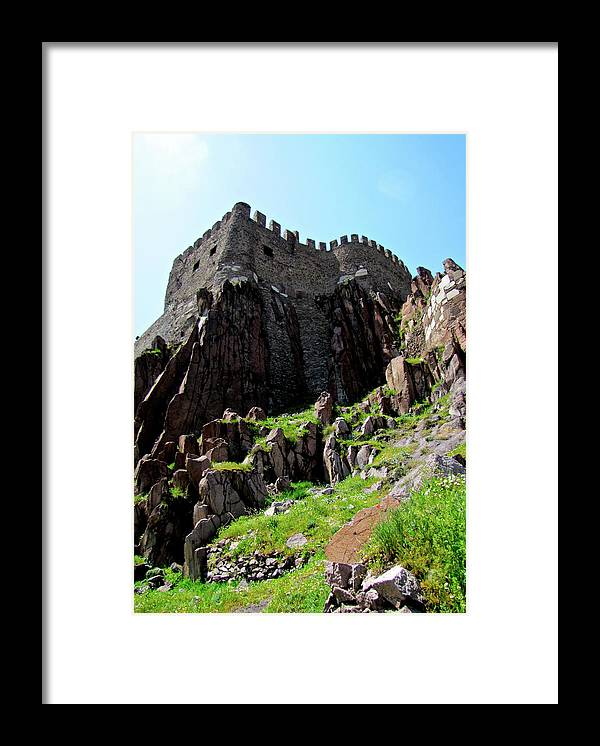 Castle Framed Print featuring the photograph Ankara Turkey II by Pam Ellis