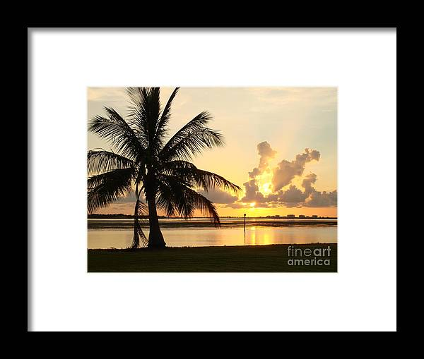 Sunset Framed Print featuring the photograph Another Day In Paridise by Robyn Leakey