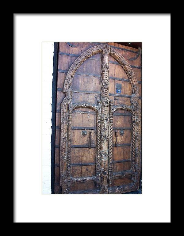 Door Framed Print featuring the photograph Another Door by James Johnstone