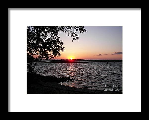 Sunset Framed Print featuring the photograph Another Hilton Head Sunset by Carol Bradley