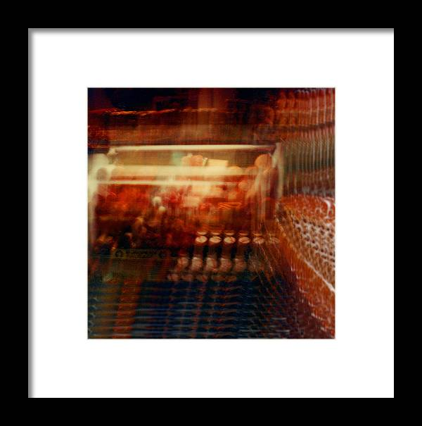 Abstact Framed Print featuring the photograph Another Look 6 by Lyle Crump