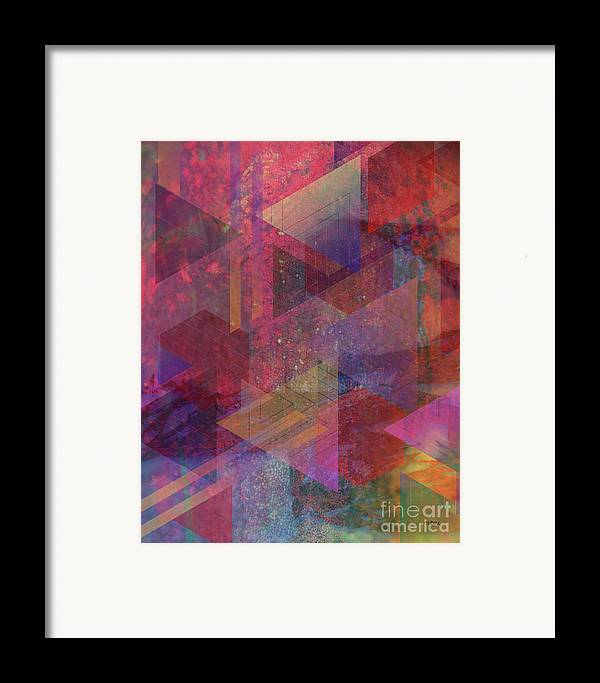 Another Place Framed Print featuring the digital art Another Place by John Beck