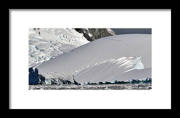 Landscape Framed Print featuring the photograph Antarctic Bliss by Chris Hanlon