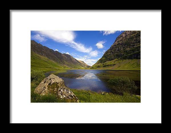 Scotland Framed Print featuring the photograph Aonach Eagach Ridge Glencoe by John McKinlay