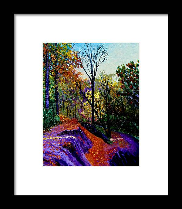 Twilight Framed Print featuring the painting Ap 10 26 by Stan Hamilton