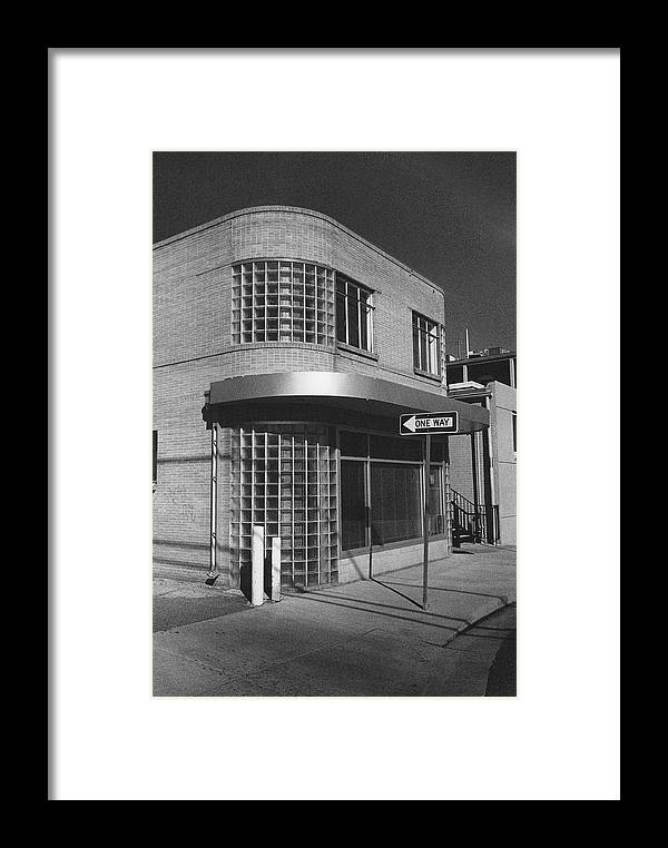 Architecture Framed Print featuring the photograph Apartment Of Clark Kent by Jim Furrer