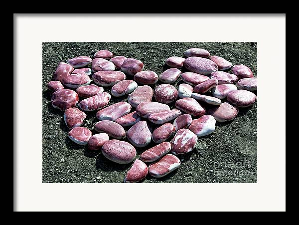 Aphrodite's Heart Framed Print featuring the photograph Aphrodite's Heart by John Rizzuto