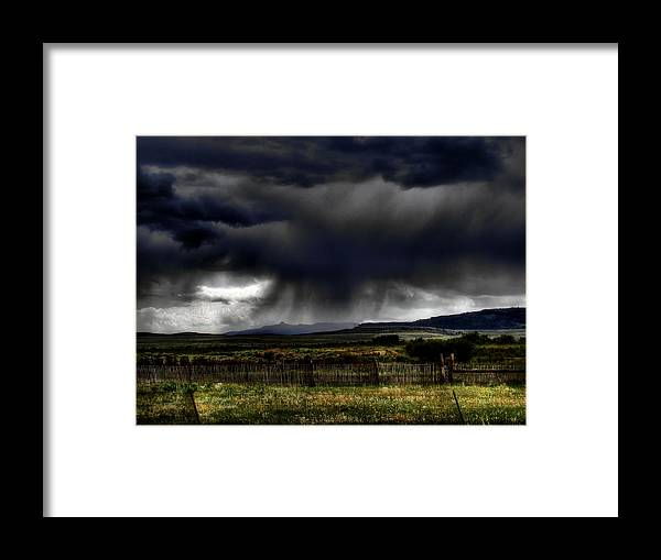 Landscape Framed Print featuring the photograph Apocalyptic by Tingy Wende