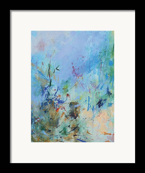 Copland Framed Print featuring the painting Appalachian Spring by Jacquie Gouveia