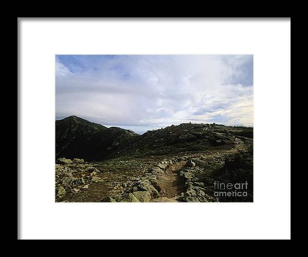 Appalachian Trail Framed Print featuring the photograph Appalachian Trail - Mount Lincoln - White Mountains New Hampshire Usa by Erin Paul Donovan