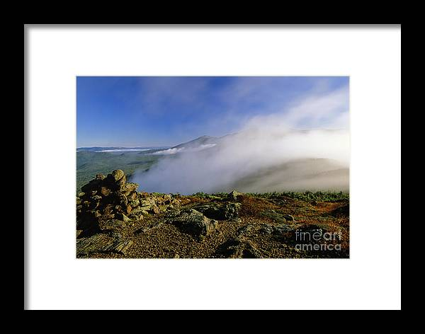 Adventure Framed Print featuring the photograph Appalachian Trail - White Mountains New Hampshire Usa by Erin Paul Donovan