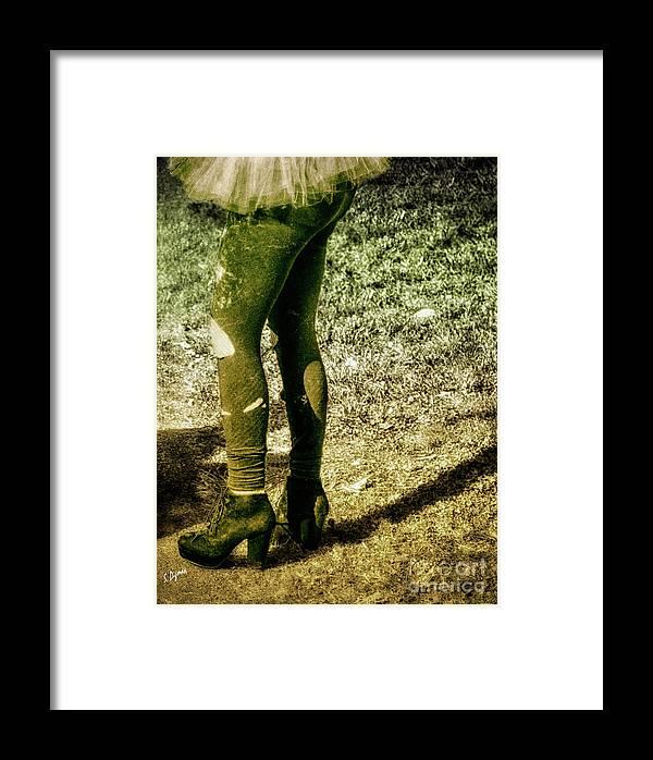 Beauty Framed Print featuring the photograph Appalachian Tutu by Steven Digman