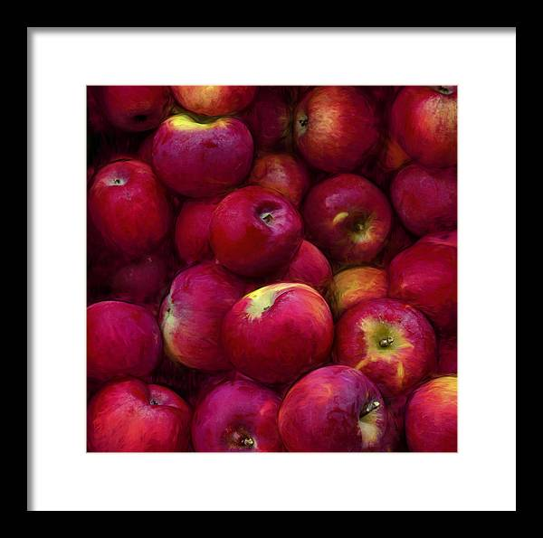 Apple Framed Print featuring the photograph Apples by George Robinson