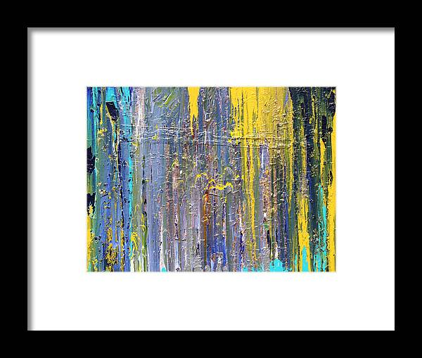 Fusionart Framed Print featuring the painting Arachnid by Ralph White