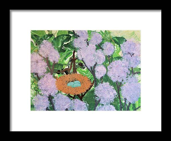 Botanical Framed Print featuring the painting Arboreal Abundance by Diana Robbins