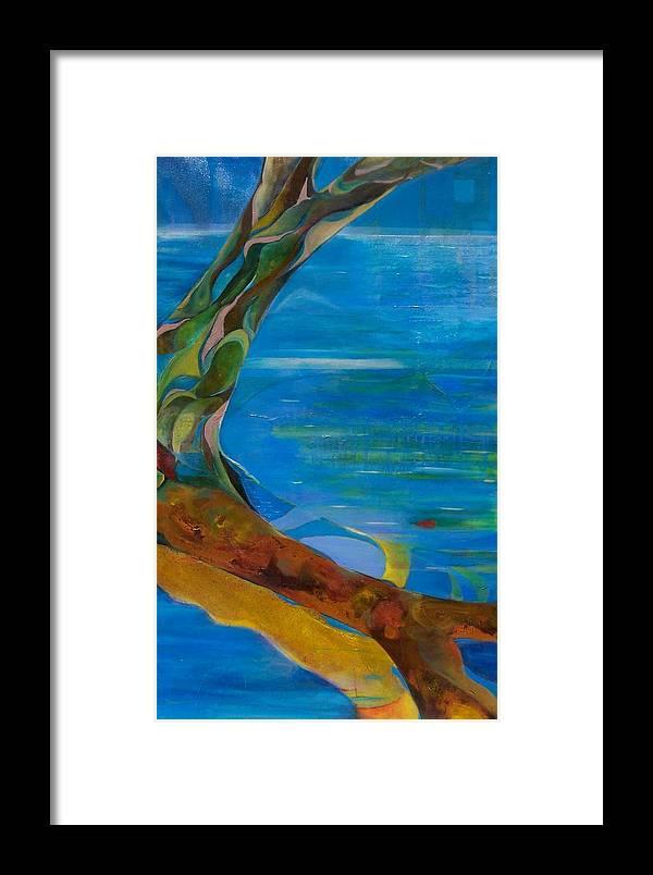 Landscape Framed Print featuring the print Arbour Lights by Meltem Quinlan
