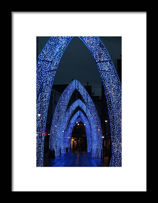 Jez C Self Framed Print featuring the photograph Arc Away From You by Jez C Self