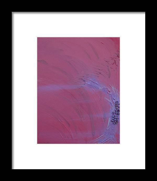 Angels Framed Print featuring the painting Archangel Ariel by Emerald GreenForest