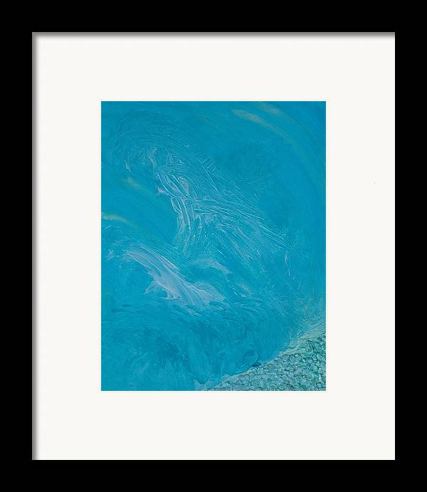 Angels Framed Print featuring the painting Archangel Michael by Emerald GreenForest