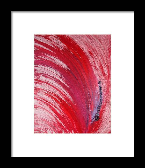 Angels Framed Print featuring the painting Archangel Raziel by Emerald GreenForest