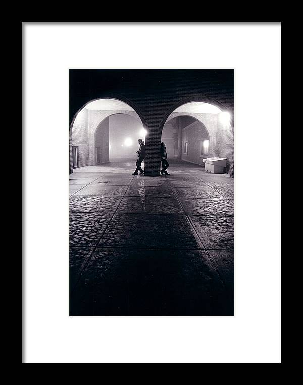 Arches Framed Print featuring the photograph Arches by Jeff Porter