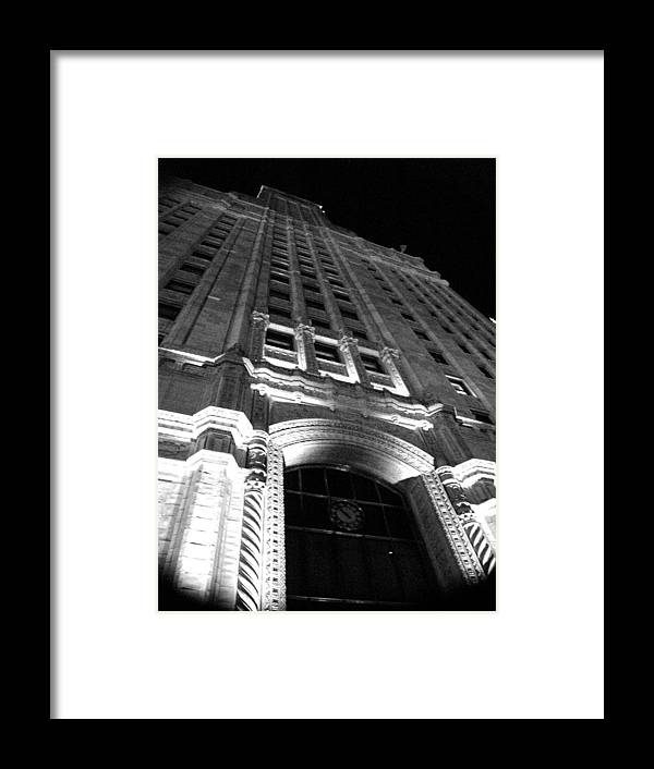 Buildings Framed Print featuring the photograph Architecture by Audrey Venute